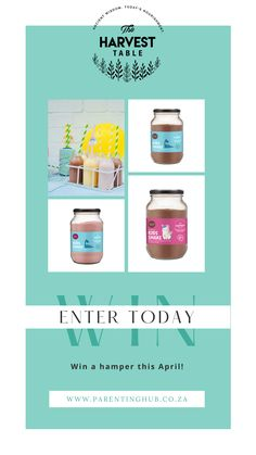 Enter to win a hamper valued at over R1000! Parenting Advice, Say Hello, Keep It Cleaner, Parenting Tips