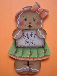 Happy Fall Gingerbread E-Pattern