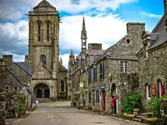 Locronan is a French commune located in the department of Finistère, in Brittany. Inhabitants of Locronan are called Locronanais in French and Lokorn in Breton.