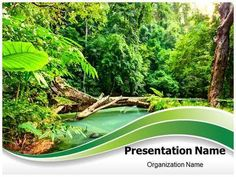 Download our professionally designed nature ppt template this jungle green powerpoint template is one of the best powerpoint templates by toneelgroepblik Gallery