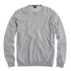 // Cashmere crewneck sweater
