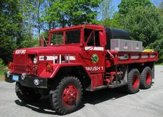Old Trucks, Fire Trucks, Brush Truck, Weather Models, Fire Apparatus, Emergency Vehicles, Firefighting, Stargate, Classic Trucks