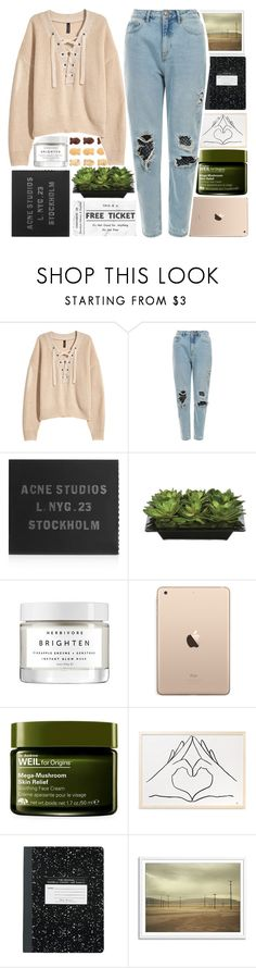 """...Ready for It?..."" by isabellarose958 ❤ liked on Polyvore featuring H&M, Acne Studios, Lux-Art Silks, Herbivore and Origins"