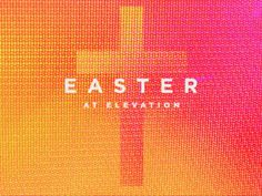 We wanted to do something a little different for Easter this year, while still playing into the familiar colors and imagery. We landed on a looping video of a hyper color LED screen. We have flat i...