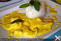 Hähnchencurry indisch in Kokosnussmilch (Rezept mit Bild)   Chefkoch.de