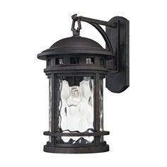 ELK Lighting 45112/1 Costa Mesa Collection Weathered Charcoal Finish