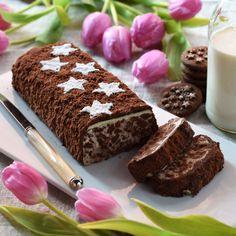 Lingotto al cioccolato bianco e Pan di Stelle