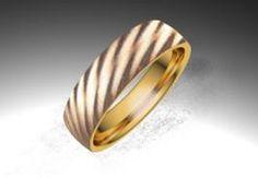 Alianza de oro rojo de 18K modelo Roses - Alianzas de oro - Clemente Navarro by LK #bodas #alianzas #novia | cnavarro.com