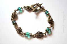 Armbänder - ❁ Rosenjuwelchen ❁ Armband - ein Designerstück von LiAnn-Versand bei DaWanda