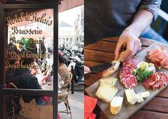 "Bon Appetit offers this ""Snob-Free"" guide to Paris which has little known wine bars where you can get a snack and an inexpensive (and good) glass of wine."