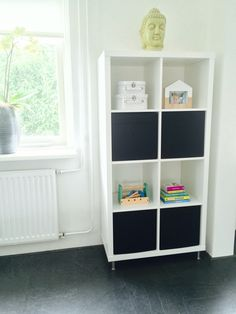 Speelgoed kast Elif woonkamer Ikea