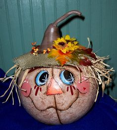 *HAPPY FALL ~ The Gourd Shack etc -