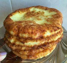 Вкуснейшие сырные лепешки за 15 минут.