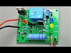 How to Make Automatic Lead Acid Battery Charger Circuit Board Battery Charger Circuit, Lead Acid Battery Charger, Automatic Battery Charger, Diy Electronics, Electronics Projects, Electronic Packaging, Printed Circuit Board, 12v Led, Circuit Diagram