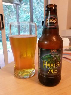 Friday, October 25, 2013: Harvest Ale, Founders Brewing Company.  http://foundersbrewing.com/our-beer/harvest-ale/?av-submitted=true