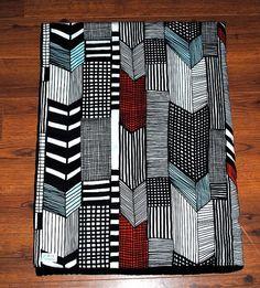 Marimekko Fabric Blanket/Quilt pretty. $65