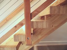 Glulam stairs look amazing