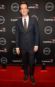Ed Helms in the Timberland Boot Co Coulter Blucher Oxford at the ESPY's.