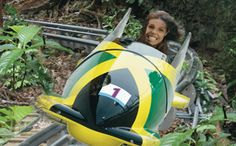 Want to see Ocho Rios from a different vantage point? Taking a tropical forest adventure tour up to the 700-foot mystic mountain peak will do just that. This environmentally friendly attraction is located in the heart of Ocho Rios  http://www.visitjamaica.com/activities/mystic-mountain.aspx