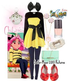 Designer Clothes, Shoes & Bags for Women Casual Cosplay, Cosplay Outfits, Cosplay Costumes, Cosplay Ideas, Sailor Moon Outfit, Sailor Outfits, Sailor Moon Cosplay, Cartoon Outfits, Anime Outfits
