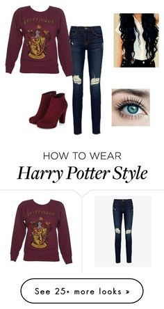 """""""Untitled #378"""" by dreamgirly on Polyvore featuring Frame Denim"""