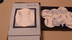 Thank you Cards Baseball Theme wedding