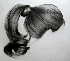 Fantasting Drawing Hairstyles For Characters Ideas. Amazing Drawing Hairstyles For Characters Ideas. Portrait Au Crayon, Pencil Portrait, Drawing Sketches, Pencil Drawings, Art Drawings, Drawing Portraits, Figure Drawings, Realistic Hair Drawing, Drawing Hair