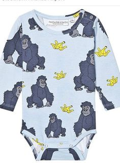 7e87056d32f6b Tao and Friends - Gorilla Baby Grow Gifts For Mum