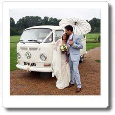 VW Campervan hire for your wedding: Aaronnnnn