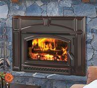 Voyageur wood insert - steel - by Quadra-Fire