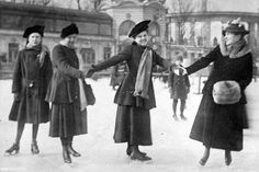 The City Park Ice Rink is a public ice rink located in the City Park of the Hungarian capital Budapest, between the Heroes' Square and the Vajdahunyad Castle. Old Pictures, Old Photos, Vintage Photos, History Photos, Budapest Hungary, People Photography, Park City, Historical Photos, Time Travel