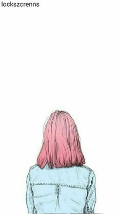 illustration pink hair by Karina Yashagina Art And Illustration, Illustration Inspiration, Landscape Illustration, Design Illustrations, Tumblr Tattoo, Tmblr Girl, Poster S, Art Plastique, Art Inspo