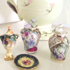 Miniatures by Anne Roder. ...1/12