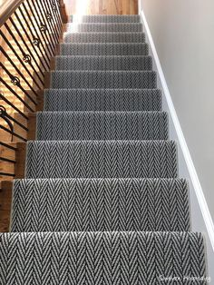 Carpet Runner · Stair Landing · As Part Of My Partnership With Shaw Floors,  They Allowed Us To Get A New