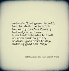 One of my favorite poems.  I love Robert Frost