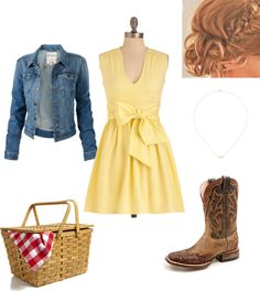 """""""It's a sunny day country outfit"""" by natihasi on Polyvore"""