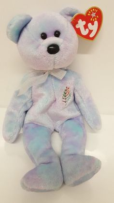 2d750f2ffd0 Details about TY Beanie Baby ISSY the Four Seasons Hotel Bear Palm Beach  Florida Tag Tree Logo