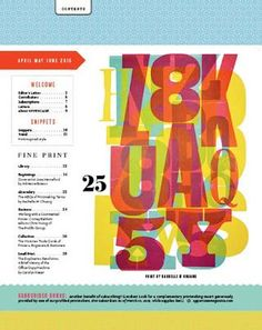 ISSUU - UPPERCASE 25 by Janine Vangool