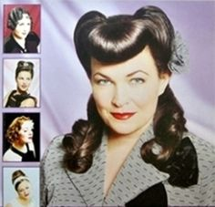 'Vintage hår' – magasin på 200 sider med over 750 bilder, som tar for seg klassiske hårfrisyrer fra 1930 til 1960.