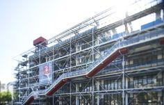 Centre Pompidou - Le Centre Pompidou, créé par Renzo Piano et Richard Rogers, est une merveille d'architecture du XXe siècle, reconnaissable...