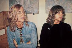Franz Gertsch - Franz und Luciano 1973