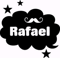 Geboortesticker type Rafael