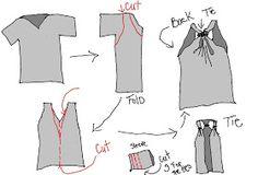 No Sew Coverup