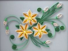 We love quilling! Crafters skilled in the art of coiled paper create seriously covetable Etsy finds.