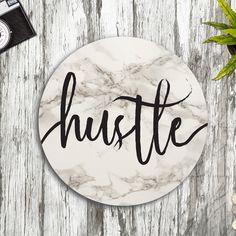Inspirational Desk Accessories cute mouse pad hustle quote chalkboard boho chic desk accessories
