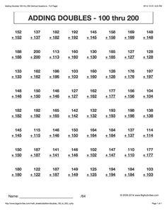 math worksheet : adding doubles plus one 1 thru 24 math worksheets 6 different  : Math 24 Game Worksheets
