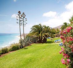 Clubanlage Ausblick Strand ROBINSON CLUB ESQUINZO PLAYA Fuerteventura