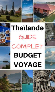 Le budget voyage en Thaïlande en 2019 Places to travel 2019 - Travel Photo Thailand Destinations, Vacation Destinations, Vacations, Bangkok Travel, Thailand Travel, Asia Travel, Cheap Travel, Budget Travel, Travel Guide
