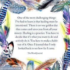 Mental Strength Quotes, Buddha Doodle, Tiny Buddha, Dear Self, Daily Wisdom, Verbatim, Magic Words, Life Advice, Healthy Relationships