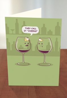Greeting Cards At Target They Call It Cheers By Threadless Artist Ava Guerrero From Singapore